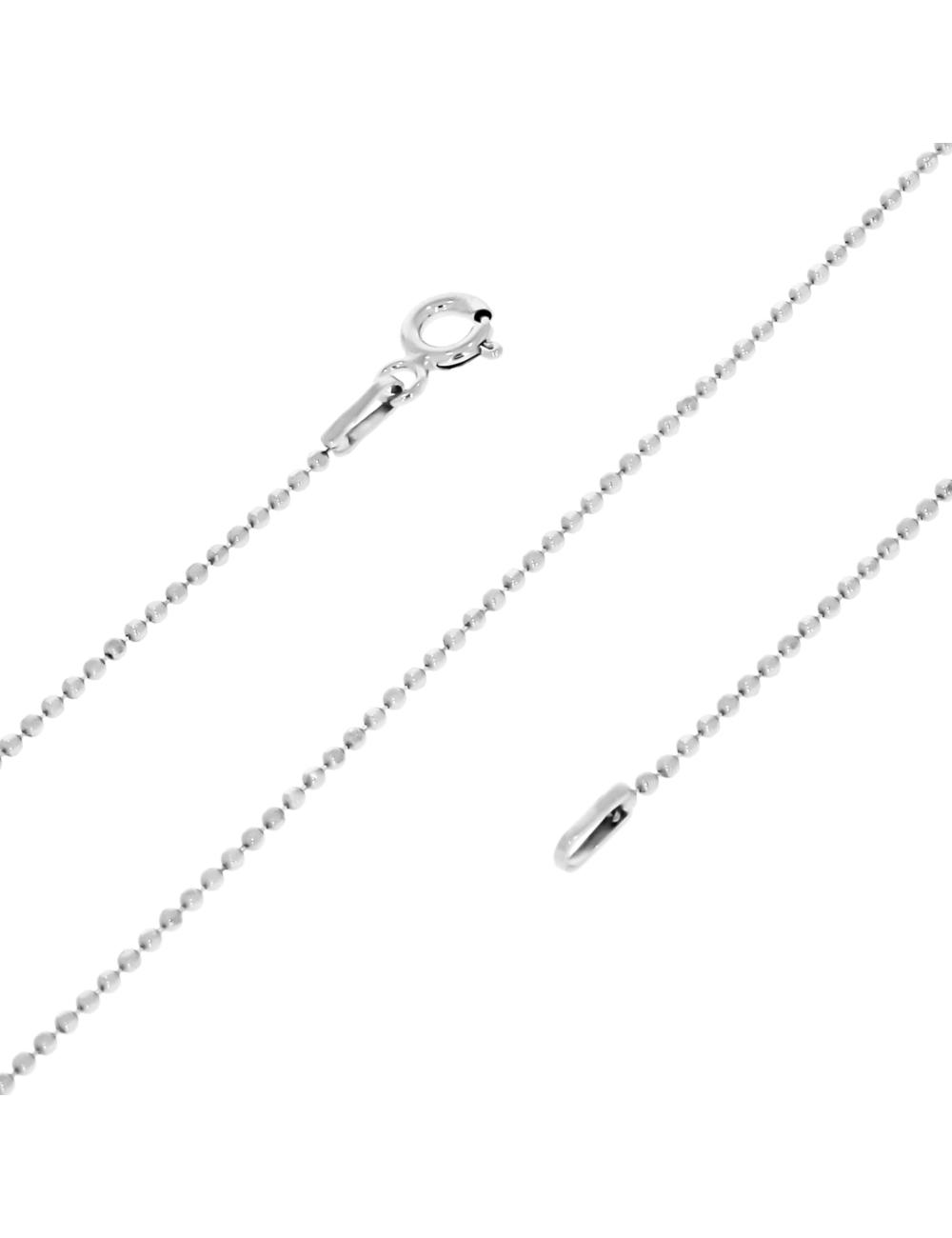 10007455 Łańcuszek srebrny pr.925 - 45 cm