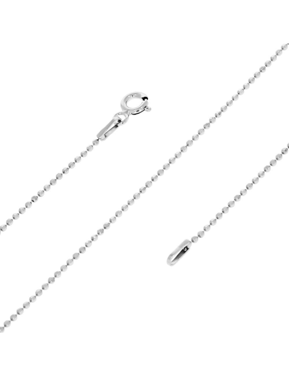 10007457 Łańcuszek srebrny pr.925 - 45 cm