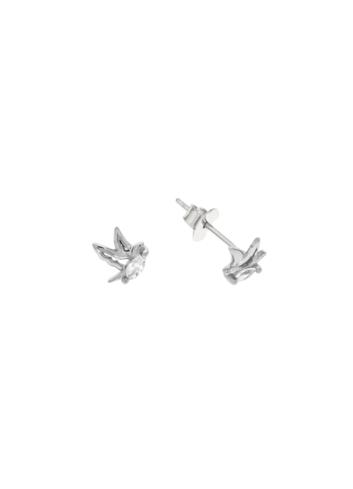 10010355 Kolczyki srebrne pr.925 z cyrkoniami