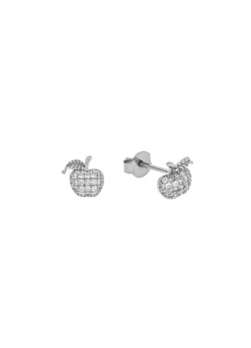 10010406 Kolczyki srebrne pr.925 z cyrkoniami