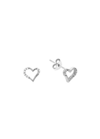 10010526 Kolczyki srebrne pr.925 z cyrkoniami