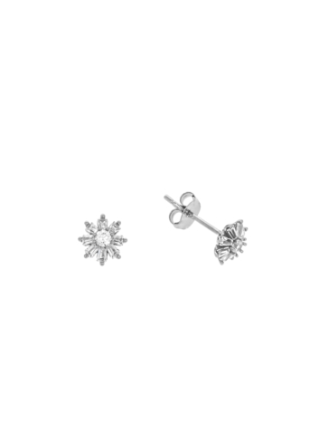 10010529 Kolczyki srebrne pr.925 z cyrkoniami