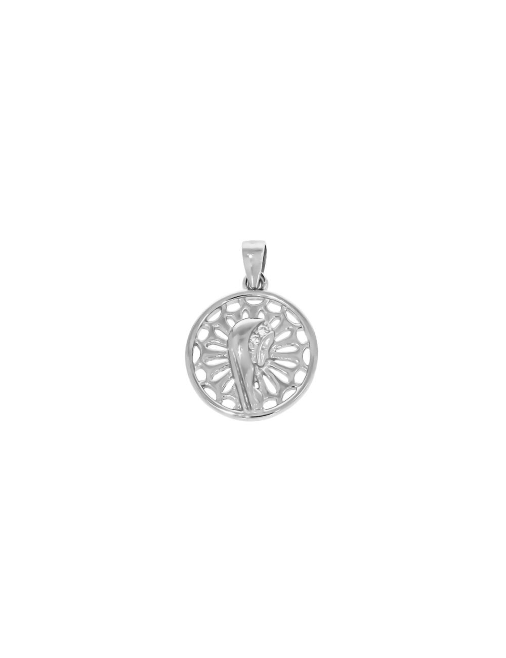 10008652 Wisiorek srebrny pr.925 z cyrkoniami