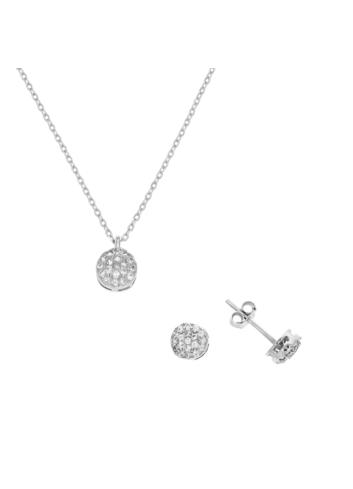 10005506 Zestaw srebrny pr.925 z cyrkoniami