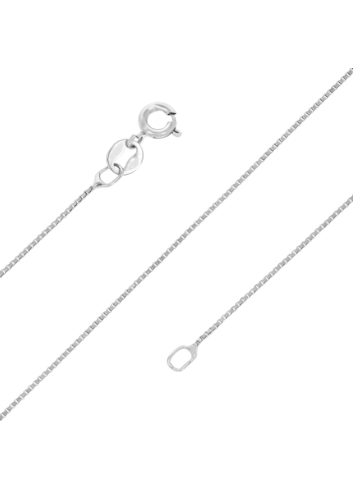 10007679 Łańcuszek srebrny pr.925 - 42 cm