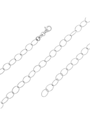 10007687 Łańcuszek srebrny pr.925 - 45 cm