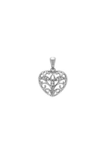 10004260 Wisiorek srebrny pr.925 z cyrkoniami