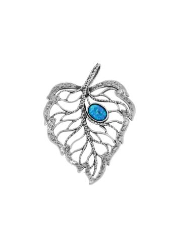 10003487 Wisiorek srebrny pr.925 z kamieniami