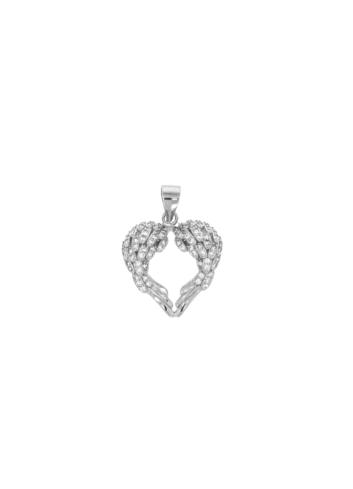 10009854 Wisiorek srebrny pr.925 z cyrkoniami
