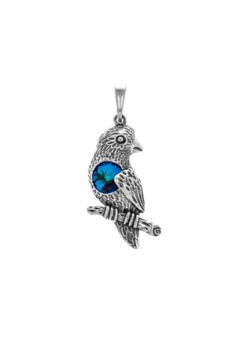 10009078 Wisiorek srebrny pr.925 z kryształem