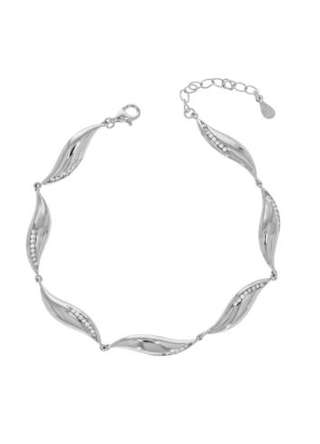 10010189 Bransoletka srebrna pr.925 z cyrkoniami