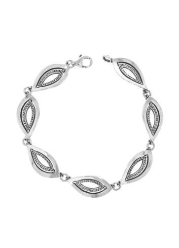 10007374 Bransoletka srebrna pr.925