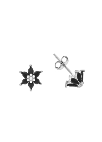 10010448 Kolczyki srebrne pr.925 z cyrkoniami