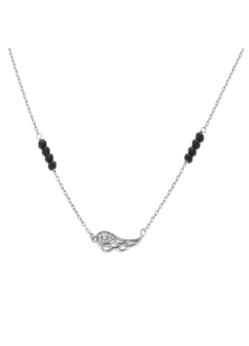 10011278 Naszyjnik srebrna pr.925 z cyrkoniami