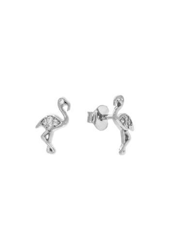 10010262 Kolczyki srebrne pr.925 z cyrkoniami