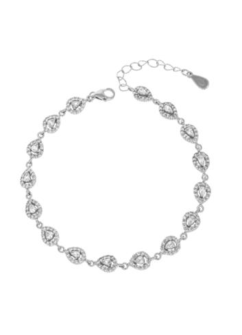 10006599 Bransoletka srebrna pr.925 z cyrkoniami