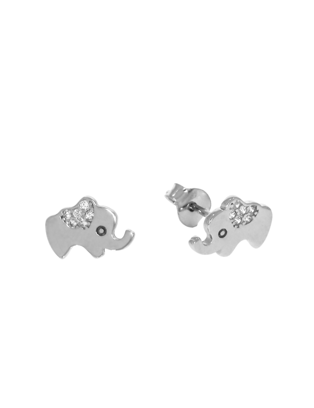 10011235 Kolczyki srebrne pr.925 z cyrkoniami