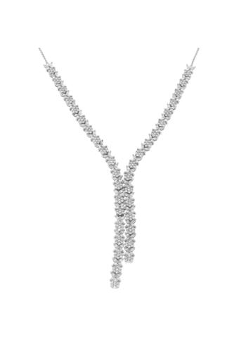 10011196 Naszyjnik srebrny pr.925 z cyrkoniami