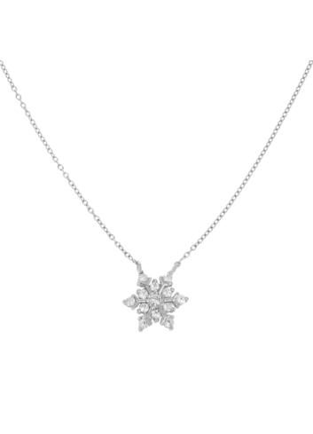 10001098 Naszyjnik srebrny pr.925 z cyrkoniami