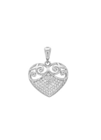 10011693 Wisiorek srebrny pr.925 z cyrkoniami