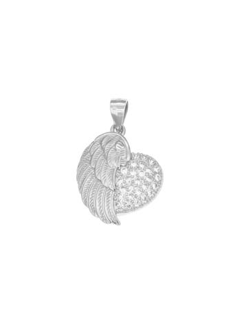 10008306 Wisiorek srebrny pr.925 z cyrkoniami