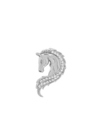 10011662 Wisiorek srebrny pr.925 z cyrkoniami