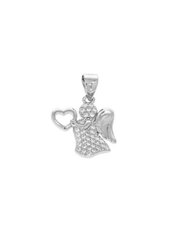 10011764 Wisiorek srebrny pr.925 z cyrkoniami