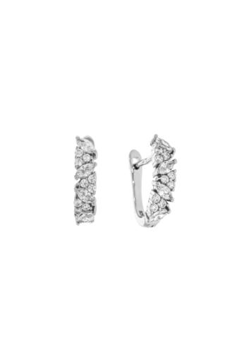 10011689 Kolczyki srebrne pr.925 z cyrkoniami