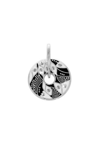 10011612 Wisiorek srebrny pr.925 emaliowany