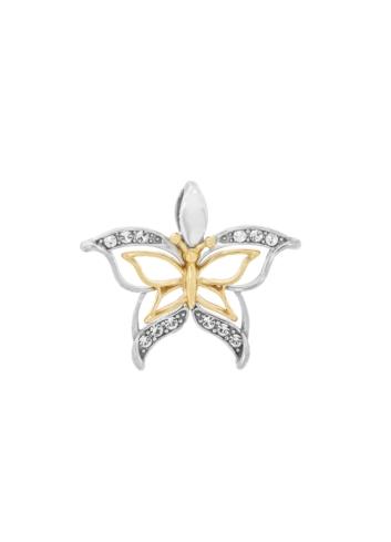 10012054 Srebrny pozłacany wisiorek pr.925