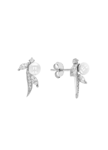 10011828 Kolczyki srebrne pr.925 z cyrkoniami