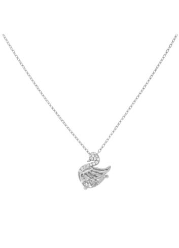10011781 Naszyjnik srebrny pr.925 z cyrkoniami