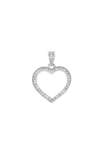 10012238 Wisiorek srebrny pr.925 z cyrkoniami