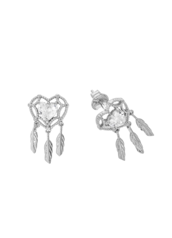 10012312 Kolczyki srebrne pr.925 z cyrkoniami