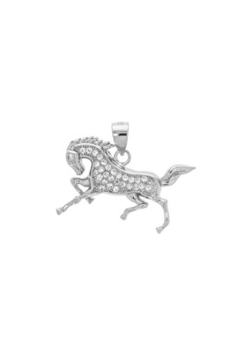 10012849 Wisiorek srebrny pr.925 z cyrkoniami