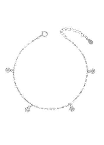 10012323 Bransoletka srebrna pr.925 z cyrkoniami
