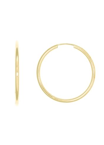 10012488 Kolczyki srebrne pozłacane pr.925