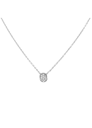 10013032 Naszyjnik srebrny pr.925 z cyrkoniami