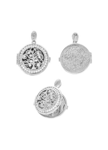 10012846 Wisiorek srebrny pr.925 z cyrkoniami