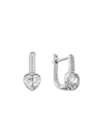 10013023 Kolczyki srebrne pr.925 z cyrkoniami