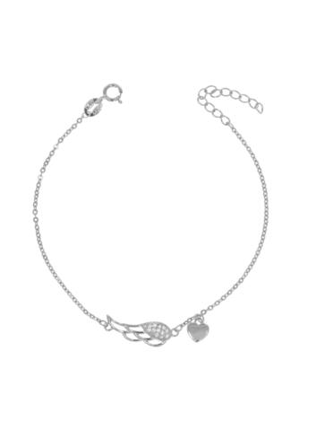 10008541 Bransoletka srebrna pr.925 z cyrkoniami