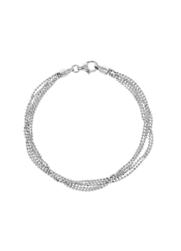 10012152 Bransoletka srebrna pr.925