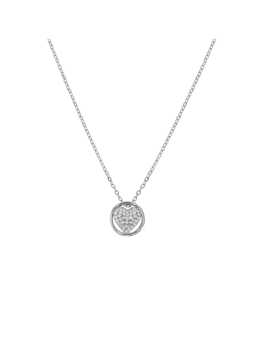 10013039 Naszyjnik srebrny pr.925 z cyrkoniami