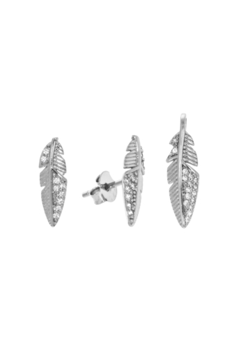 10004304 Komplet srebrny pr.925 z cyrkoniami