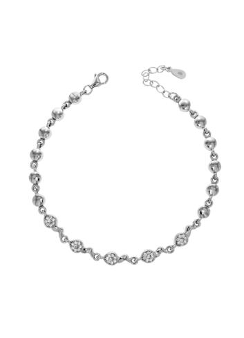 10012591 Bransoletka srebrna pr.925 z cyrkoniami