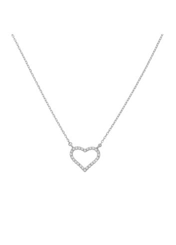 10012780  Naszyjnik srebrny pr.925 z cyrkoniami