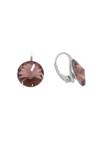 10007901 Kolczyki srebrne pr.925 z kryształami