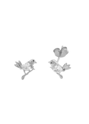 10010569 Kolczyki srebrne pr.925 z cyrkoniami