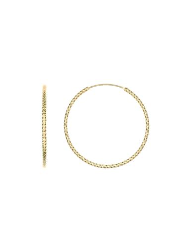 10012478 Kolczyki srebrne pozłacane pr.925