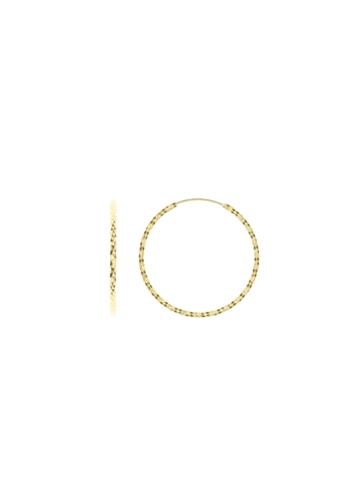 10012496 Kolczyki srebrne pozłacane pr.925